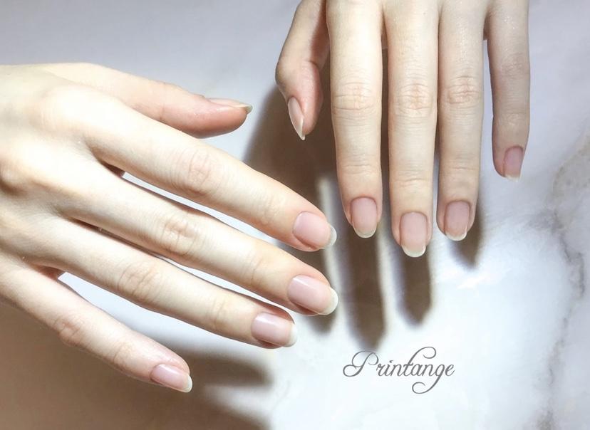 自爪を傷めないネイルサロン 大阪/本町 Nail&Foot care Printange ネイル&フットケア プランタンジュ